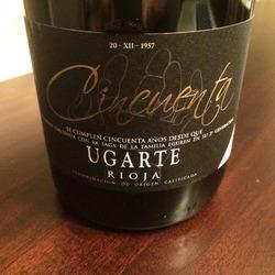 Heredad Ugarte Rioja Cincuenta  Wine