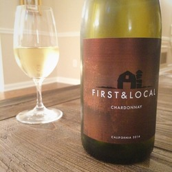 First & Local Chardonnay   Wine