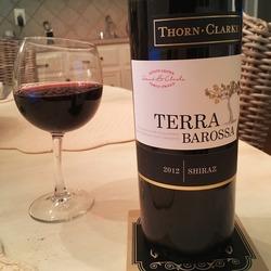 Thorn Clarke Terra Barossa Shiraz  Wine