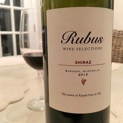 Rubus Shiraz  Wine