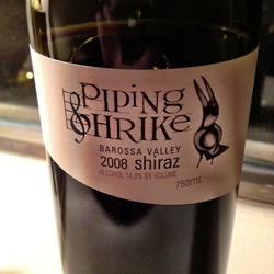 Piping Shrike Australia Wine