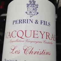 Perrin & Fils Vacqueyras Les Christins 2010, France