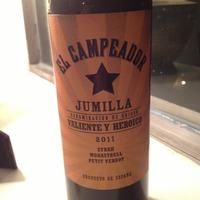 El Campeador Jumilla  2011, Spain