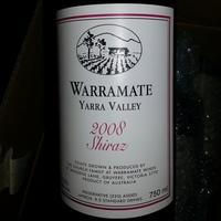 Warramate Shiraz 2008, Australia