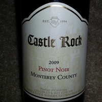 Castle Rock Pinot Noir 2009, United States