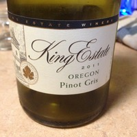 King Estate Pinot Gris 2011,