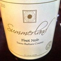 Summerland Pinot Noir 2010,