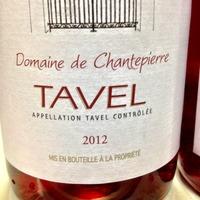 Domaine de Chantepierre Tavel Rosé 2012,