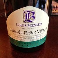 Louis Bernard Côtes du Rhône Villages 2006,