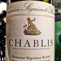 Domaine Séguinot-Bordet Chablis 2011,