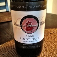 Domaine Berrien Cellars Pinot Noir 2008,