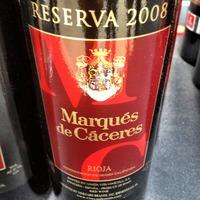 Marqués de Cáceres Rioja Reserva 2008,