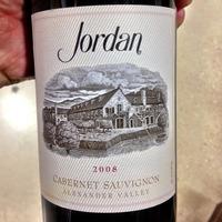 Jordan Vineyard Cabernet Sauvignon  2008,
