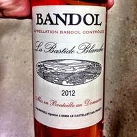 La Bastide Blanche Bandol 2012,