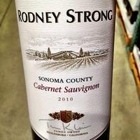 Rodney Strong Cabernet Sauvignon 2010,