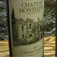 Chateau Montelena Cabernet Sauvignon 2007,