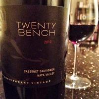 Twenty Bench Cabernet Sauvignon 2010,