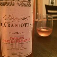 Domaine La Rabiotte Côteaux d'Aix en Provence 2012,