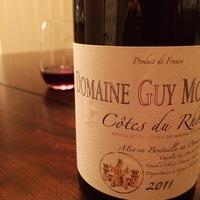 Domaine Guy Mousset Côtes du Rhône  2011,