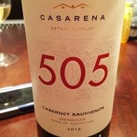 Casarena 505 Cabernet Sauvignon 2012,