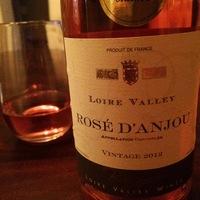 Bougrier Rosé D'Anjou 2012,