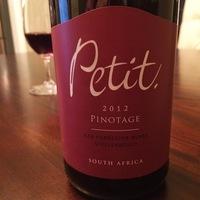 Petit Pinotage 2012,