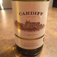 Cardiff Vineyards Chardonnay 2012,