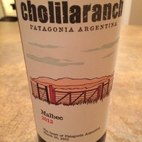 Cholila Ranch Malbec 2013,