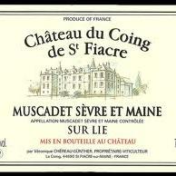 """Château du Coing de Saint-Fiacre <a href=""""/regions/muscadet"""">Muscadet</a>, <a href=""""/regions/loire-valley"""">Loire Valley</a> France"""
