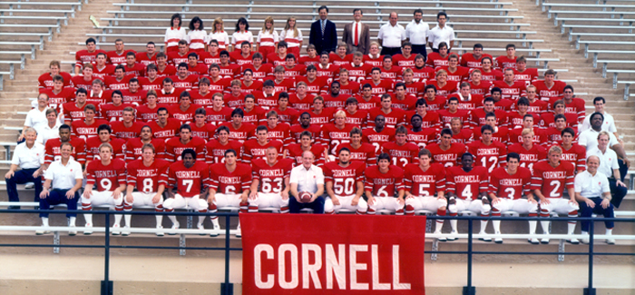 1986 Football Roster