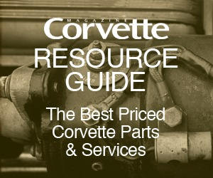 Corvette magazine resource guide