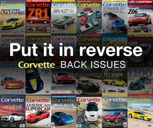 Corvette magazine back issues