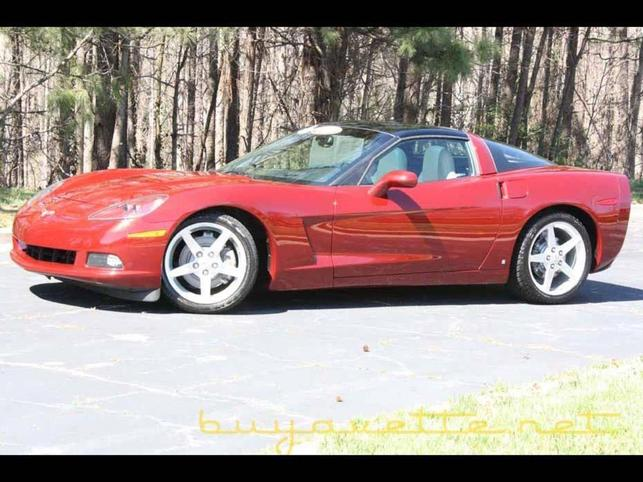 2006 corvette coupe