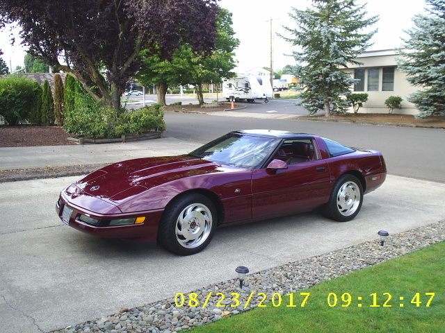 1993 40th anniversary coupe