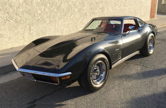 1972 corvette stingray t top