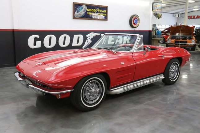 1963 corvette roadster nom 327 4spd