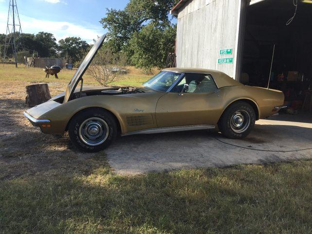1971 corvette convertible lt1