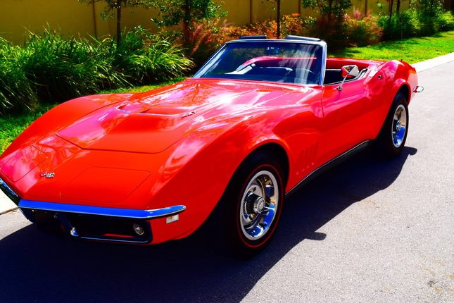 1968 chevrolet corvette l71 427 435 hp matching numbers