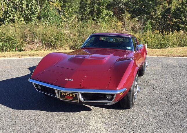1969 l76 427 390 automatic coupe