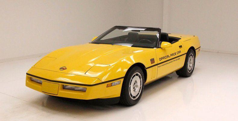 1986 Corvette Indy Pace Car Indy Pace Car picture #1