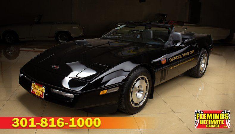 Corvettes For Sale In Md >> 1986 Corvette Pace Car Pace Car In Rockville Md Listed On 12 02 19 Corvettes For Sale Corvette Magazine