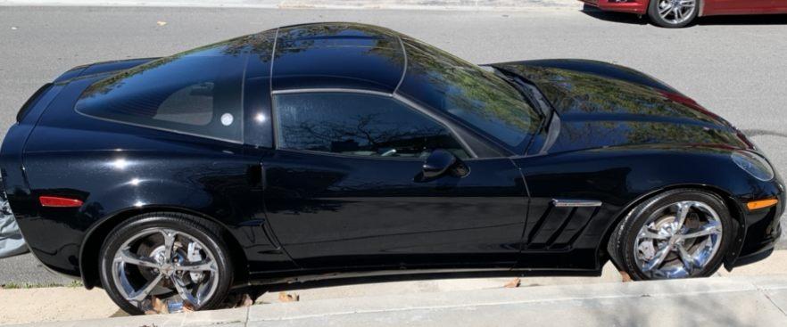 2010 Corvette 3LT - Black picture #1