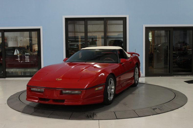 1987 Corvette Convertible picture #1