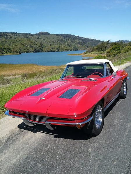 1963 Corvette Sting Ray Convertible picture #1
