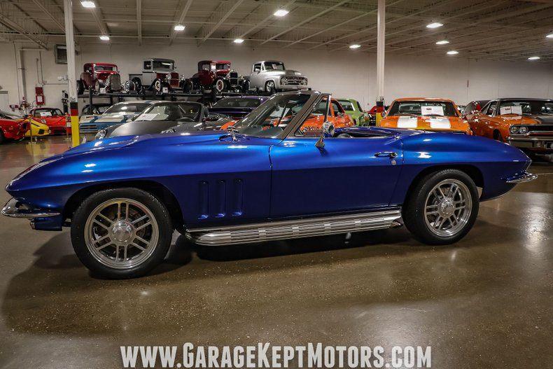 1966 Corvette Convertible Convertible picture #9