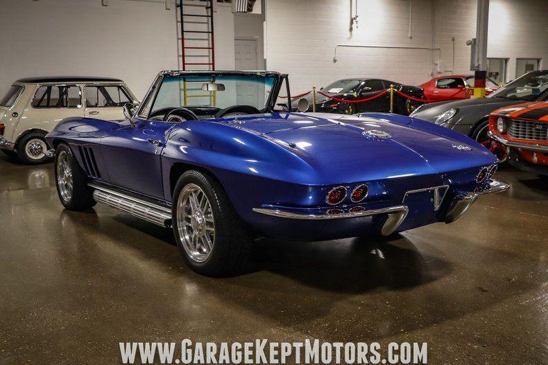 1966 Corvette Convertible Convertible picture #12