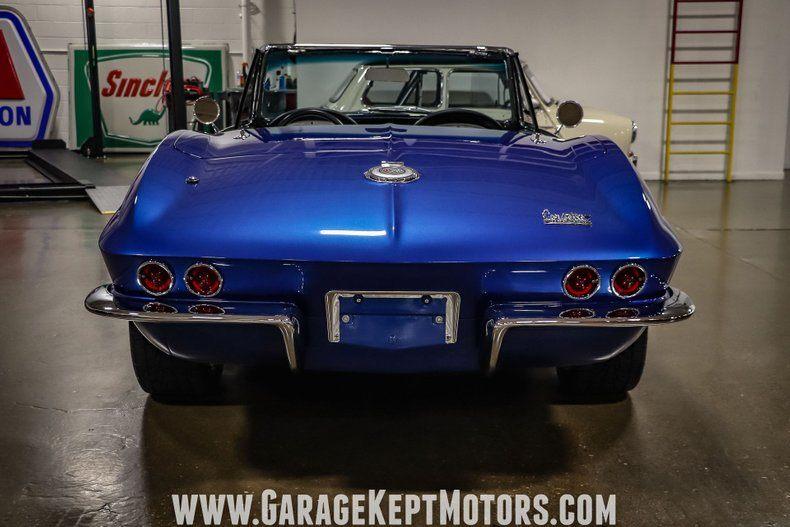 1966 Corvette Convertible Convertible picture #13
