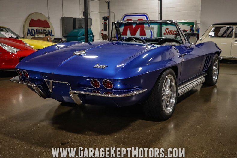 1966 Corvette Convertible Convertible picture #14