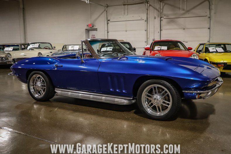 1966 Corvette Convertible Convertible picture #17
