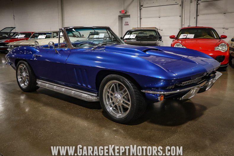 1966 Corvette Convertible Convertible picture #18